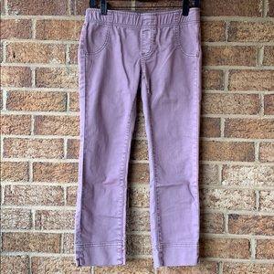 Free People Lavender cropped pants